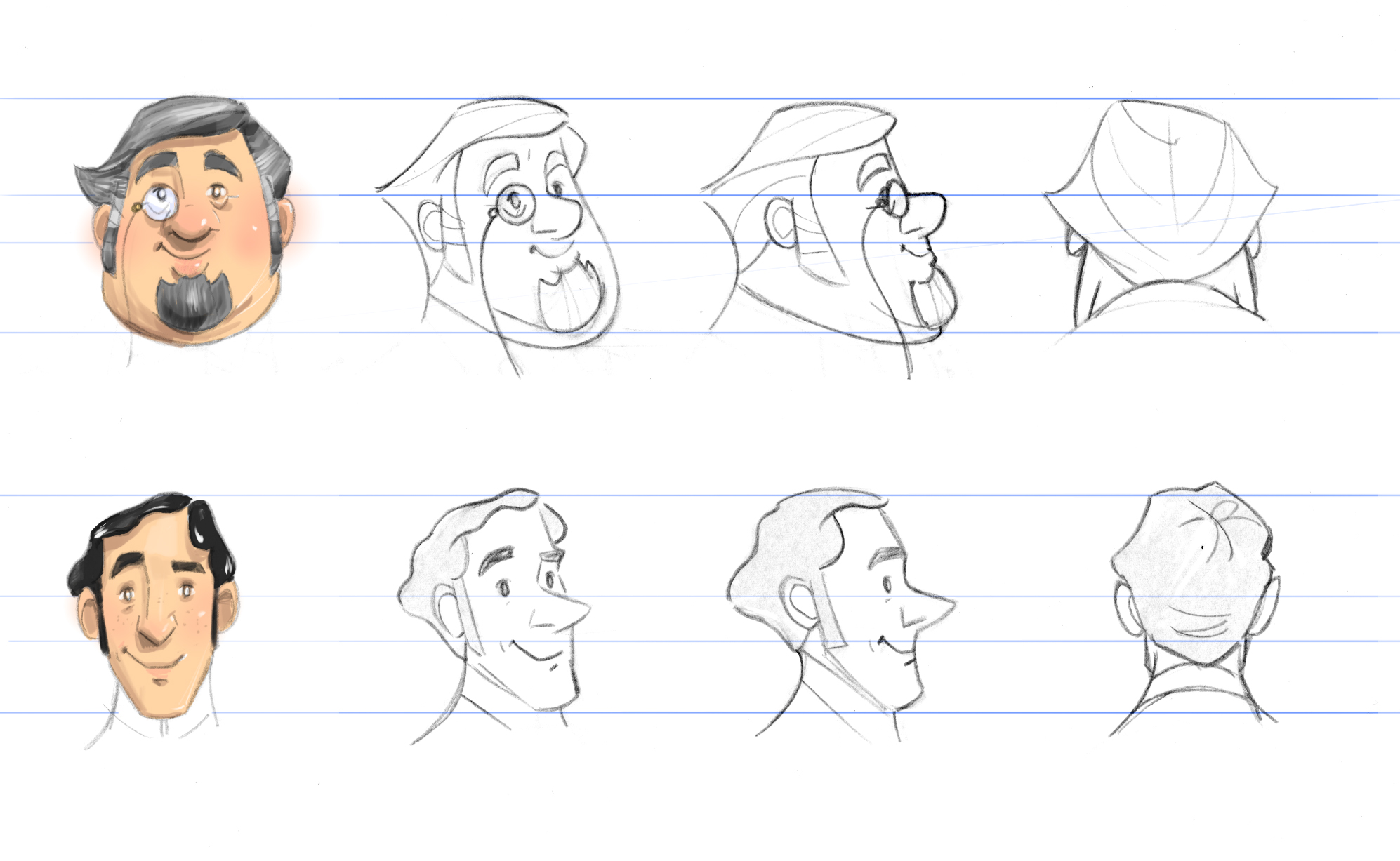 Degree For Character Design : The making of ' degrees minutes part brown bag labs