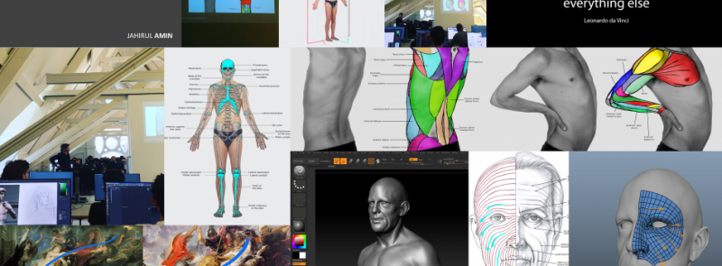 Coming Up Introduction To Anatomy For 3d Screentrainingireland