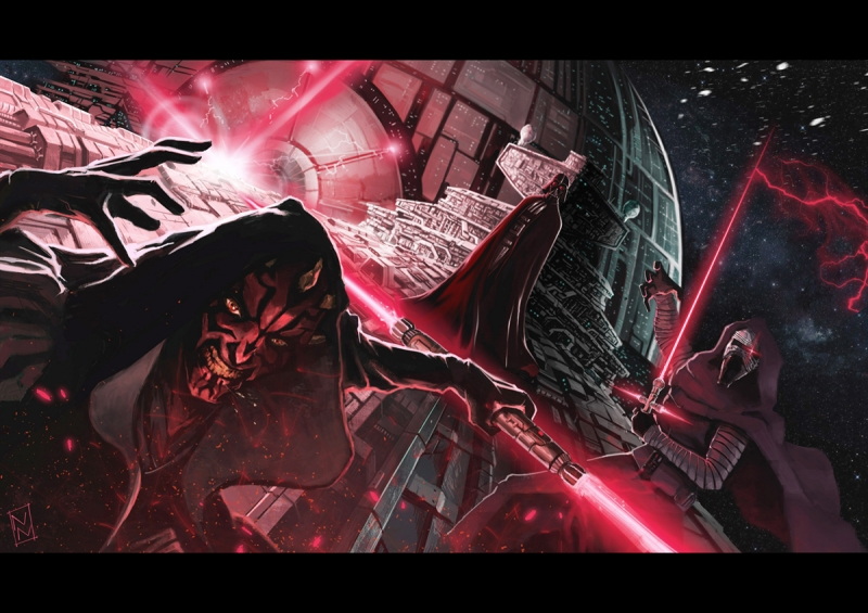 Dark Side of the Force (I Guess) by Nuno Nobre