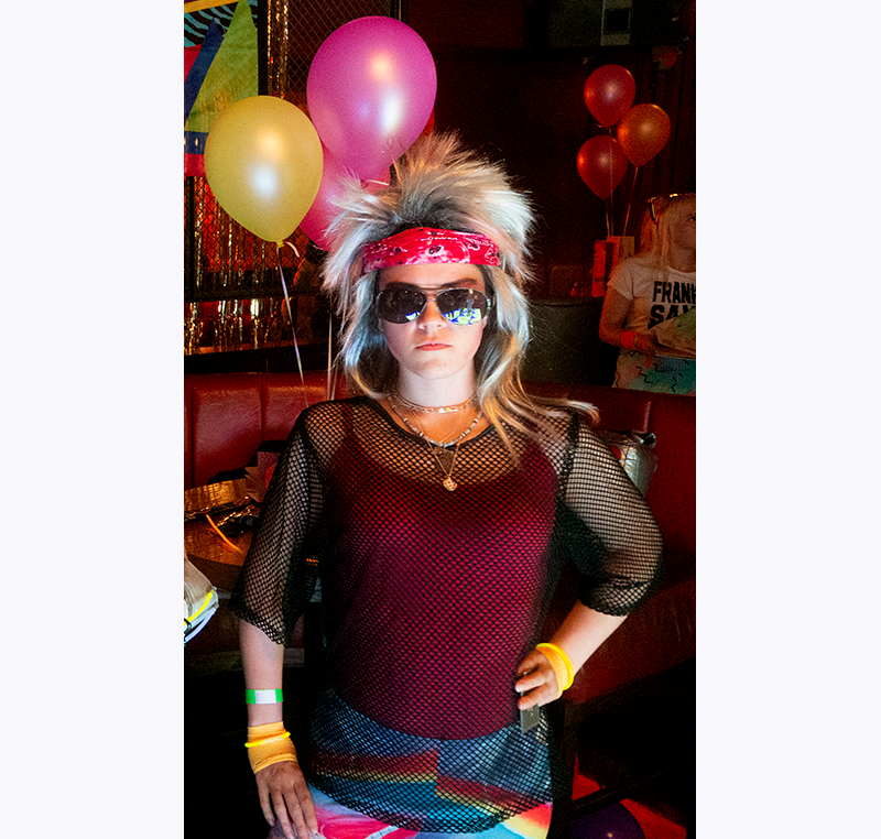 Manchester 80's themed Summer Party Costume Competition Winner - Lead Animator Regan Greenwood