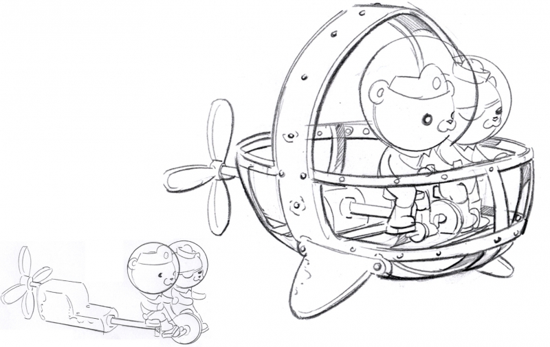 octonauts gup x coloring pages - photo#4