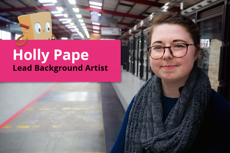 Lead Background Artist Holly Pape