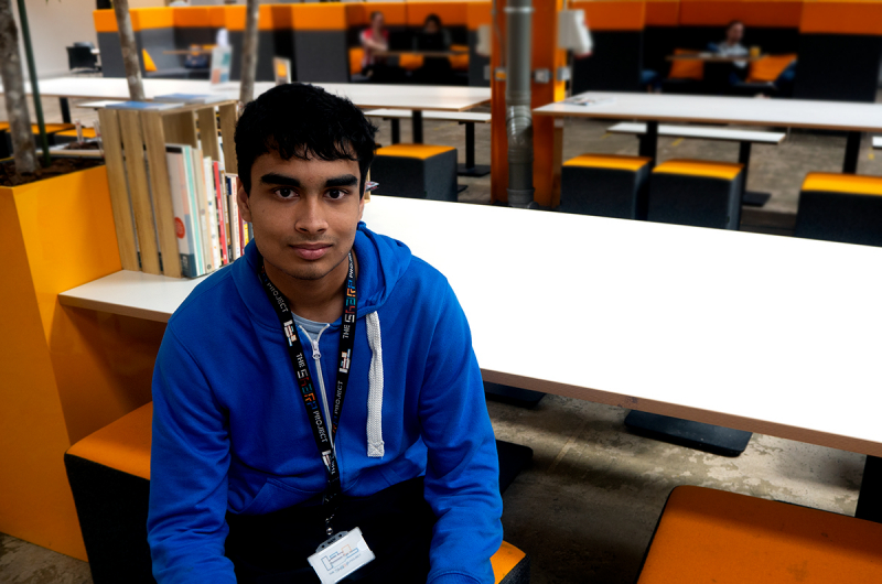 Rohit Ghosh, GCSE student at Manchester Grammar School