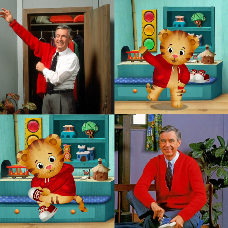 The Valuable Lessons We Ve Learned From Mr Rogers And Daniel Tiger Tribute Brown Bag Labs