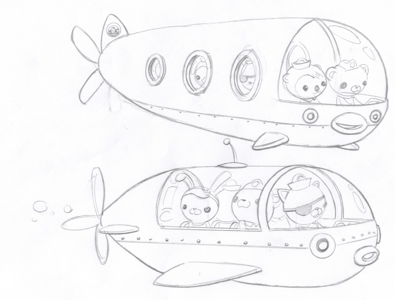 octonauts gup x coloring pages - photo#8