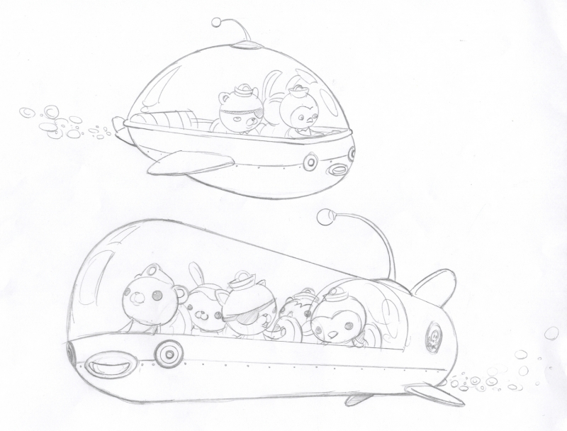 octonauts gup x coloring pages - photo#10