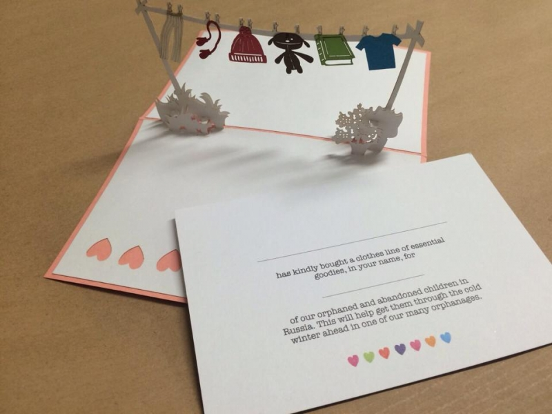 With Love Christmas Cards #Charity #TRWL #ANYA - Brown Bag Labs