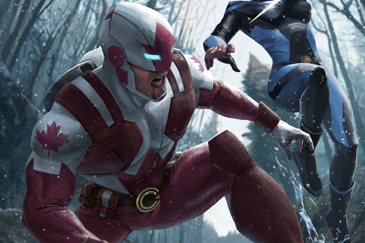 Captain Canuck #FanArt - Brown Bag Labs
